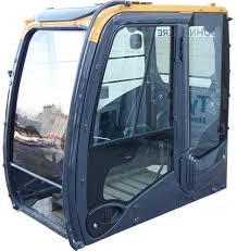 شیشه کابین بیل مکانیکی
